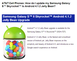 AT&T's Galaxy S II Skyrocket Getting Its Official Taste Of Jelly Bean, Rolling Out Now Via Kies