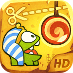 Cut The Rope: Time Travel Now On The Play Store, Available In Free And HD Flavors