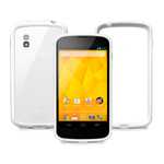 The White Nexus 4 8GB With Bumper Case Is No Longer For Sale In The Google Play Store, No Case-less Option Available Yet