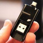 Leef Bridge Dual-USB/MicroUSB Flash Drive Does Not Discriminate Between PCs and Smartphones