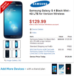 [Deal Alert] Verizon's And Sprint's Galaxy S4 $129/119 Respectively For New Contracts From Dell, Also Includes A $50 Dell eGift card