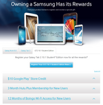 Samsung Starts A Promo For The Galaxy Tab 2 Student Edition: $10 Play Store Credit, Three Months Of Hulu Plus, And A Year Of Boingo