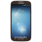 """Someone At Samsung Really Likes Brown: Galaxy S4 In """"Autumn Brown"""" Leaked For Verizon"""