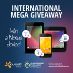 [Update: Winners!] International Mega Giveaway Redux: Win One Of Nine Nexus Devices From avast! And Android Police