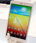 [IFA 2013] Hands-On With The LG G Pad 8.3 (Video)