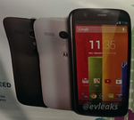 Evleaks Tips The Moto G: 4.7-inch 720p Screen, Snapdragon Pro, 8 Or 16GB, And Free On Contract