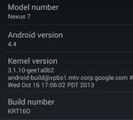 [KitKat] 2012 Wi-Fi Nexus 7 Owners, It's Your Turn To Download And Flash Android 4.4 OTA Update (KRT16O)