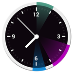 [New App] 12Hours Is A Brilliantly Simple Analog Clock Widget That Displays The Day's Events Using Basic Shapes And Colors
