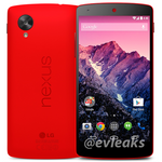 Leaked Red Nexus 5 Press Shot Makes An Appearance, Courtesy Of @evleaks