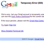 PSA: Do Not Blame Your ISP This Time - Gmail, Google+, And Other Google Services Are Down Or Very Slow [Update: Back Up]