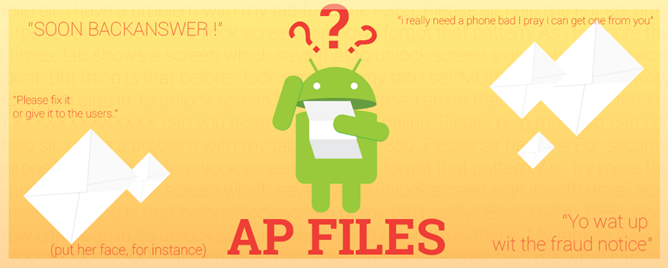 [The Android Police Files #11] i love android and want to write columns for u