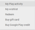 Google Play Web Store Adds 'My Play Activity' With All Your +1s And Ratings In One Place