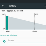 "Android ""L"" Feature Spotlight: Battery Menu And Lockscreen Now Show You How Long It Will Take To Charge Your Battery"