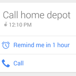 Google Now's Call Reminder Feature Is Pretty Clever