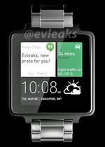 Alleged HTC Android Wear Smart Watch Leaked By @evleaks