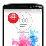Verizon's Logo-Laden LG G3 Is Up For Pre-Order ($100 On Contract, $600 Off) And Shipping On July 17th