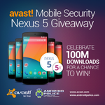 [Update: Winners] Win One Of Five Nexus 5s From Avast And Android Police