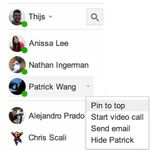 Gmail Hangouts Updated With Tab That Puts Online Contacts At The Top, Lets Users Pin Favorites