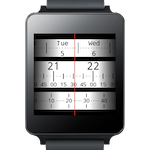 Meter Watch Face For Wear Is An Analog Meter Clock For Your Wrist