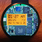Circuit Wear Watch Face For The Moto 360 Offers A Window Into The Anatomy Of Your Wristwatch