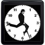 The Best Android Wear Watchface Yet Is A Tribute To The Ministry Of Silly Walks