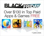 Amazon Gives Away 40 Apps And Games ($130 Value) For Black Friday, No Lines Necessary