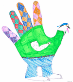 Happy Thanksgiving From Android Police—Here Are Your Hand Turkeys