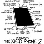 The xkcd Phone 2 Arrives With Always-On Speaker, MaxHD Cheek Touching Display, Coin Slot, And More