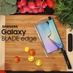 Samsung Starts April Fools Early With The Galaxy Blade Edge, The World's First Smart Knife