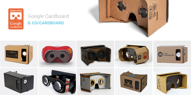 Google Announces 'Works With Cardboard' Program With Design Guidelines, New Partnerships, And More