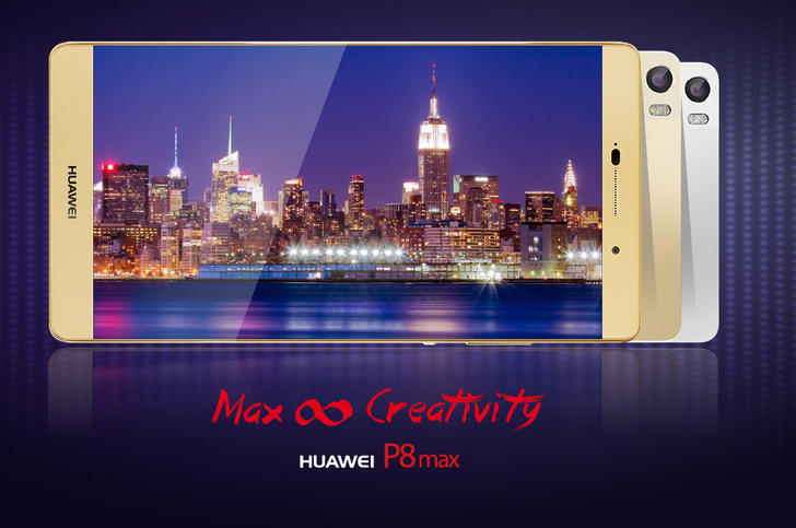 [Really?] Huawei Blatantly Photoshops Screen Bezels Out Of P8 And P8max Marketing Renders