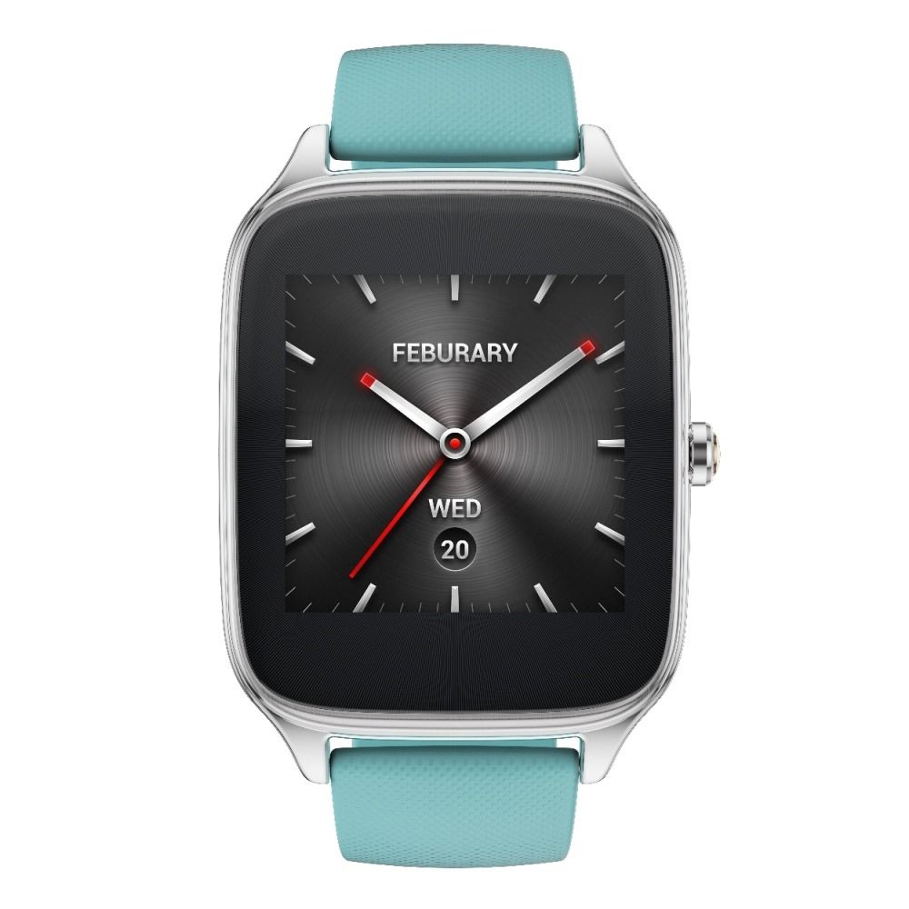 ASUS ZenWatch 2 (WI501Q)_Silver Rubber strap