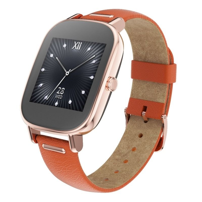 ASUS ZenWatch 2 (WI502Q)_Rose-gold Lether strap