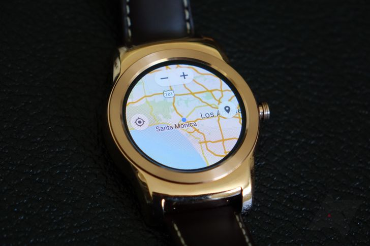 This Is Google Maps For Android Wear Running On A Watch Urbane