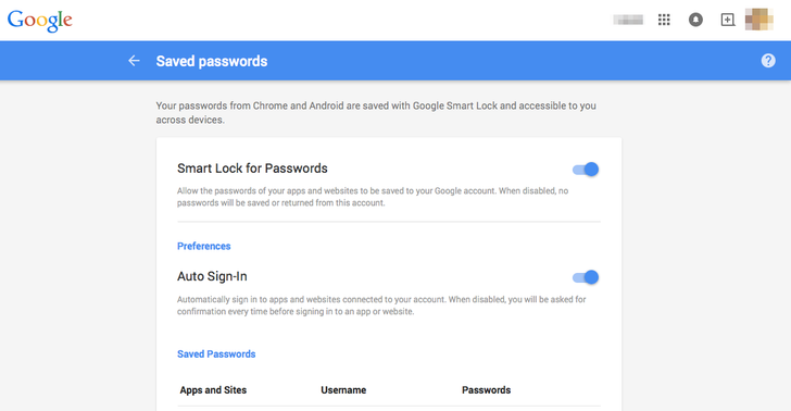 Smart Lock Passwords Is Now Going Live On Pre-Android M Devices, Web Interface Is Active Too