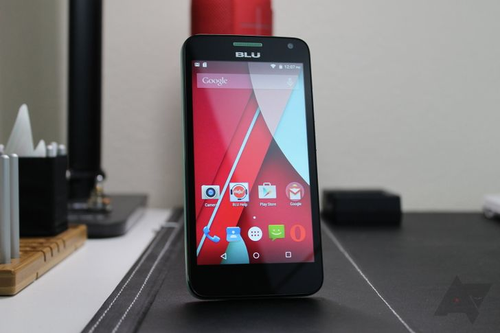 Hands On With The Studio C, Blu's First Lollipop Phone - Available Today For $99