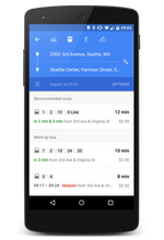 Starting Today, Google Maps Will Show Real-Time Public Transit Schedules In The Android App