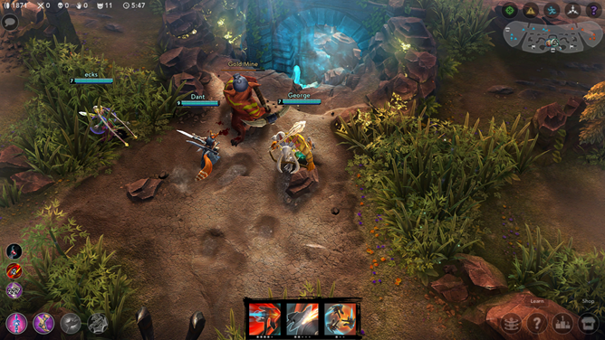 Super Evil Megacorp's Well-Received Mobile MOBA Vainglory Lands On Android