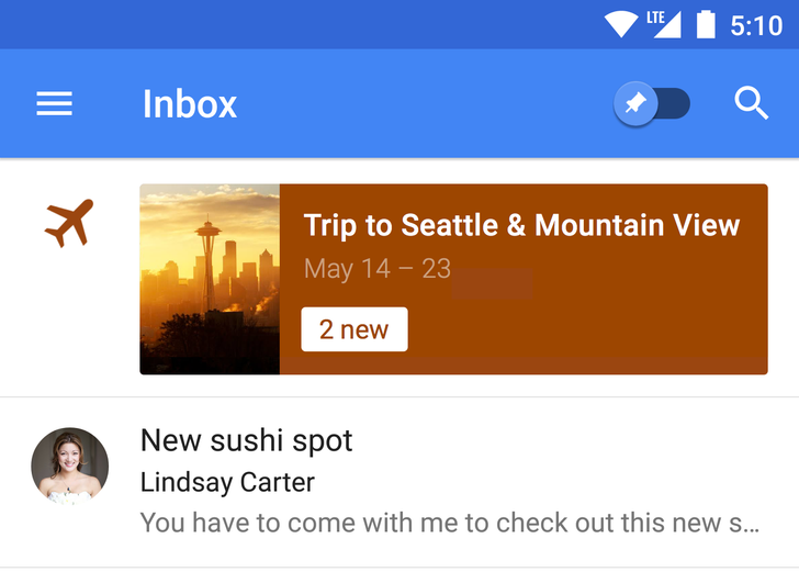Google Shows Off More Details Of Newly-Added Trip Bundles For Inbox By Gmail