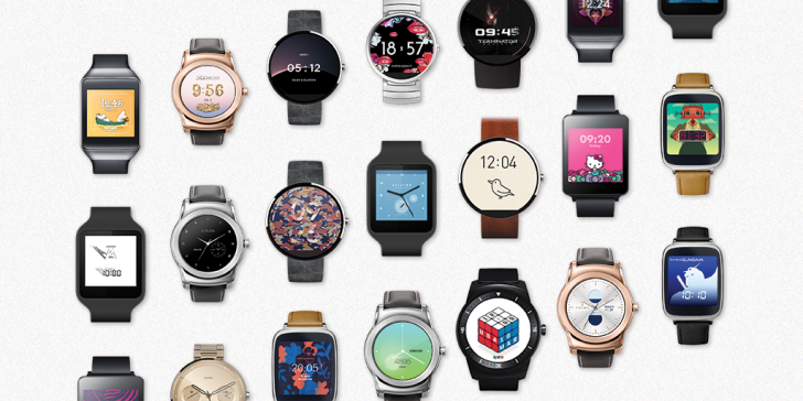 Google Announces 17 New Android Wear Watch Faces From Brands And Designers Like Cynthia Rowley, Rubik's, Bang & Olufsen, And Anrealage