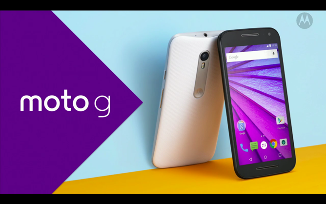 Motorola Officially Unveils Two Models Of The Moto G 2015: 5-Inch Screen, Snapdragon 410, 13MP Camera, 1 Or 2GB Of RAM, 8 Or 16GB Of Storage