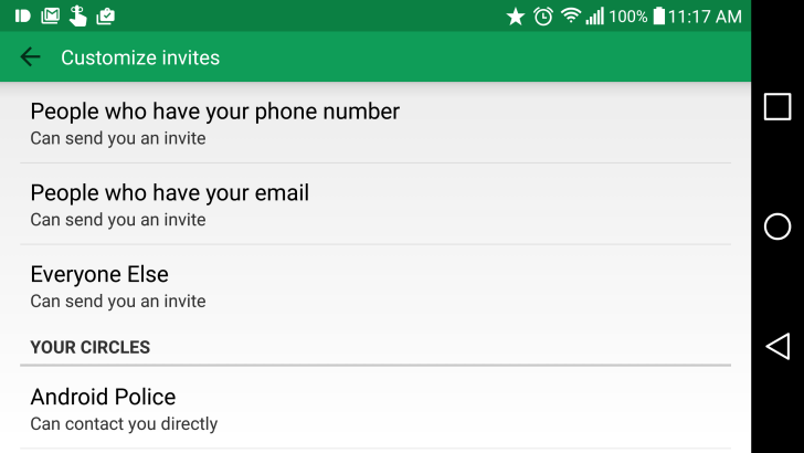Google is rolling out new custom invitation options in hangouts but letting you know when someone new is trying to contact you is not one of them google is rolling out several new invitation options to hangouts stopboris Images