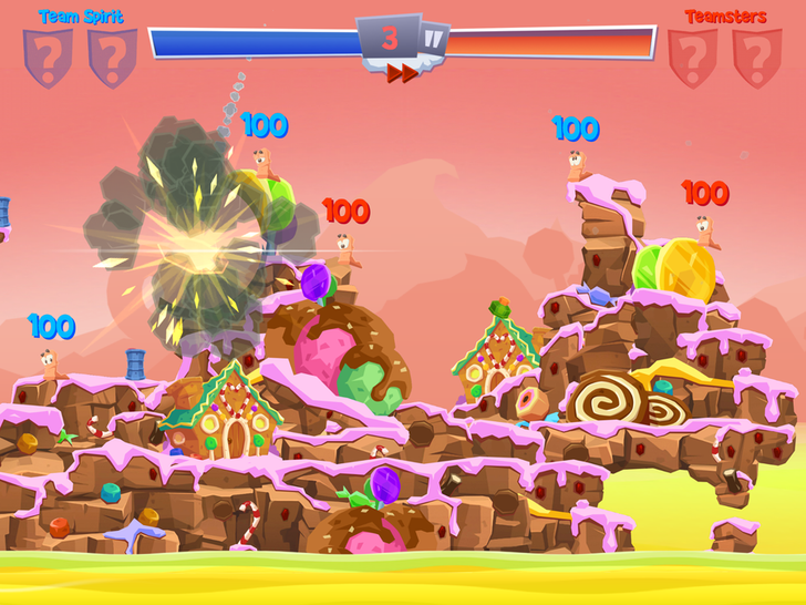 Team17 Announces Worms 4, A Mobile-Focused Worms Game Coming To Android Eventually