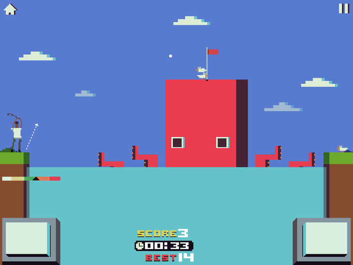 Kappsule's Latest Game 'Battle Golf' Is A Free Way To Defeat Menacing Creatures With A Solid Stroke