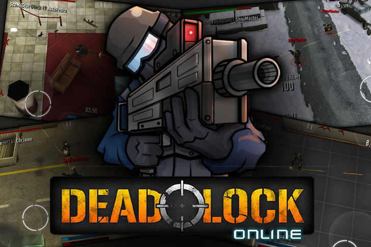 After Four Years, Popular iOS Twin-Stick Shooter 'Deadlock: Online' Comes To Android With Cross-Platform Multiplayer Support