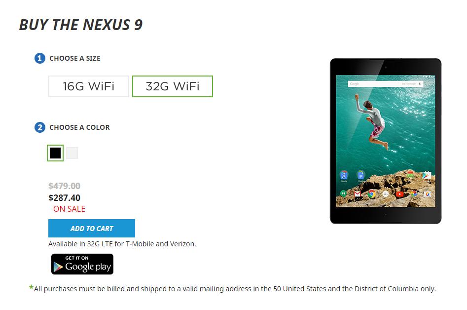 htc-deals-nexus-9-32gb