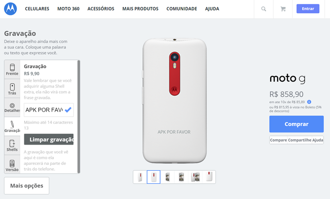 Moto Maker Customization Is Available In Brazil Today - Moto G Now, Moto X Play And Moto X Style Later This Year