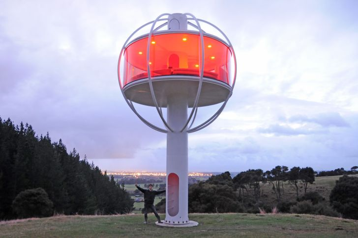 [Tree Houses Are For Chumps] The Skysphere Is The Ultimate Geeky Android-Controlled Man Tower
