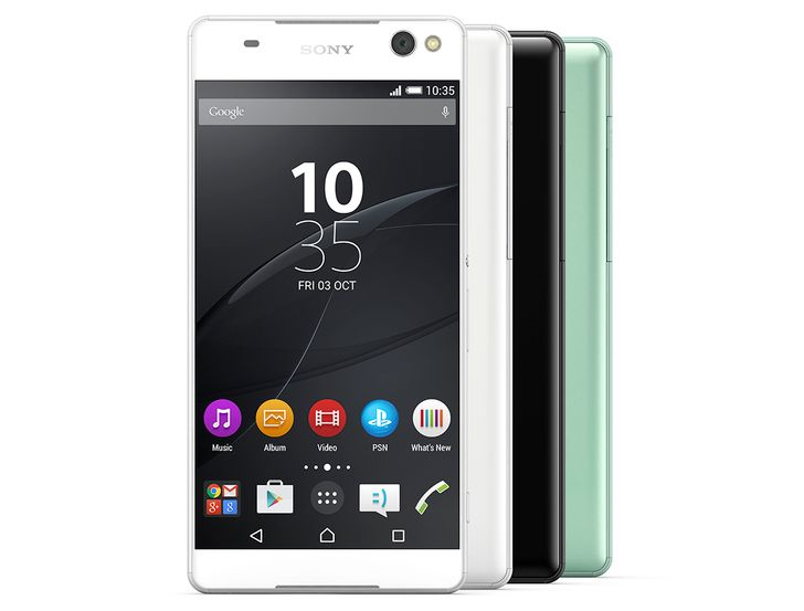 Sony Announces The Xperia C5 Ultra With Front/Rear 13MP Cameras And A 6-Inch Edge-To-Edge Screen