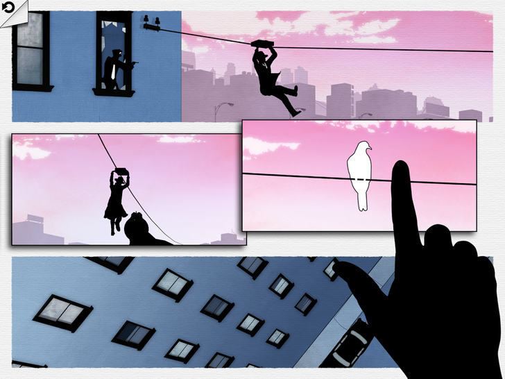 Framed From Noodlecake Studios Is A Gritty Comic-Style Puzzler Where You Control The Story